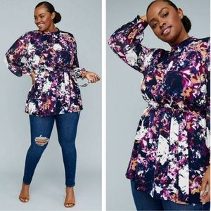 Lane bryant x Girl With Curves | Belted Tunic 0708
